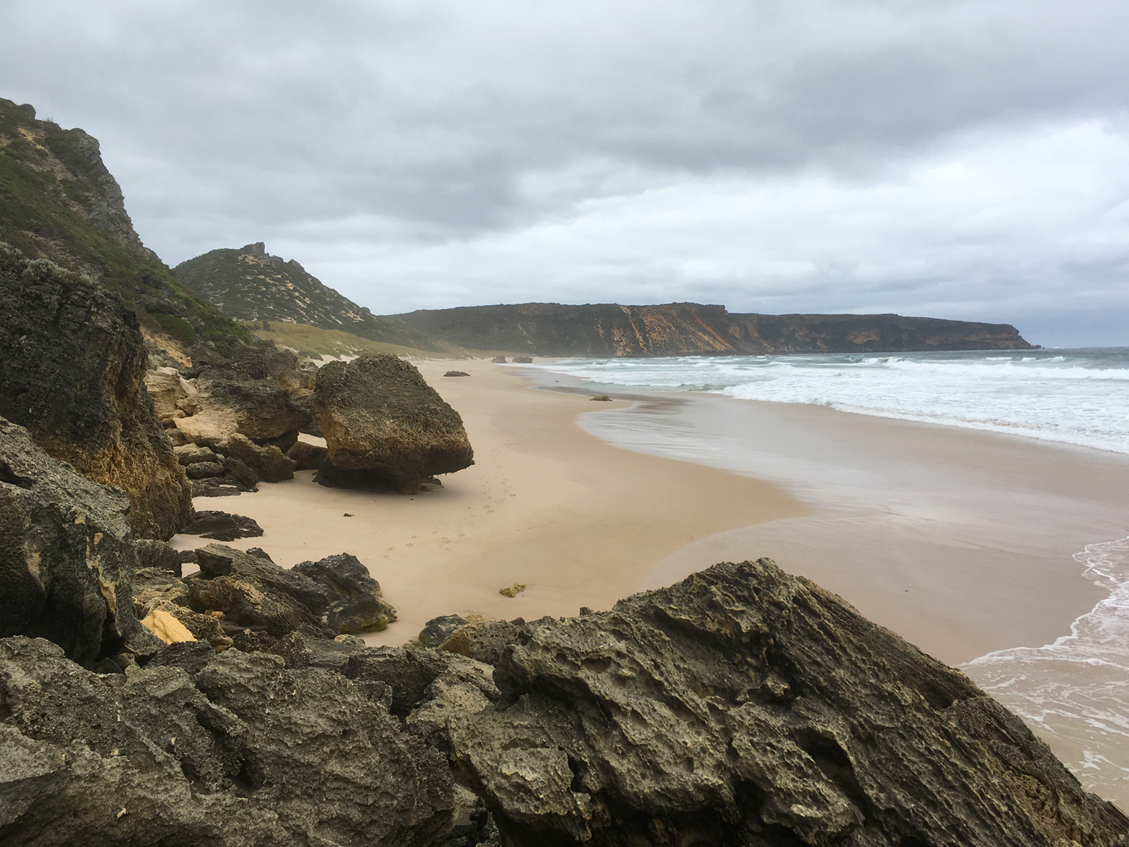 Salmon Beach at D'Entrecasteuax national park